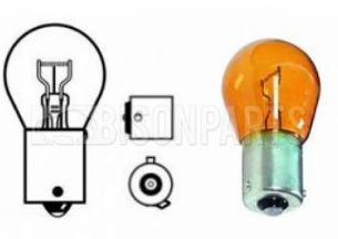 581 INDICATOR BULB ORANGE ( OF SET PINS ) 21 WATT SCC